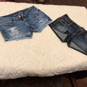 Lot of 2 ladies shorts EUC